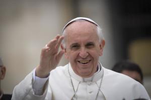15/05/2013 Città del Vaticano, piazza San Pietro, udienza generale del Mercoledì di papa Francesco
